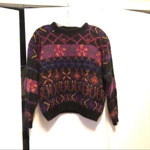 Vintage Chelsea Studio Geo Print Sweater